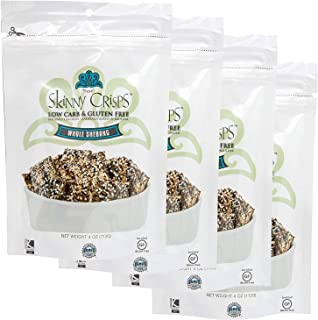 Skinny Crisps Whole Shebang Crackers (Pack of 4)