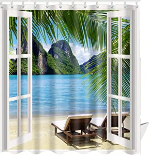 3d window curtains