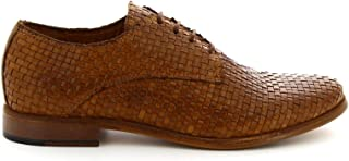 LEONARDO SHOES Luxury Fashion Womens 55118866BROWN Brown Lace-Up Shoes | Season Outlet