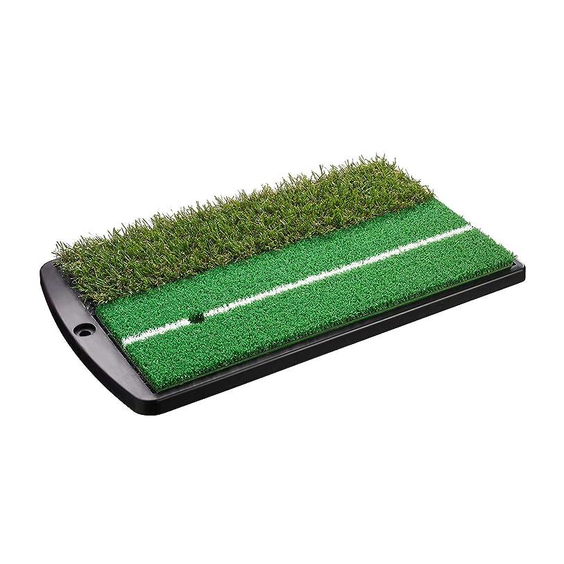 君主制またモスTabata(タバタ) ゴルフ練習用ショットマット 2WAY(ツーウェイ) ショット&ラフマット 430×253mm フルショット対応 GV0264