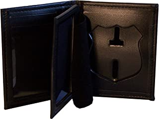 Hidden Badge Wallet for NY City Patrol Officer (Cutout PF145)