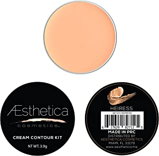 Aesthetica Cosmetics Cream Refill for Cream Contour and Highlighting Makeup Kit (Heiress)