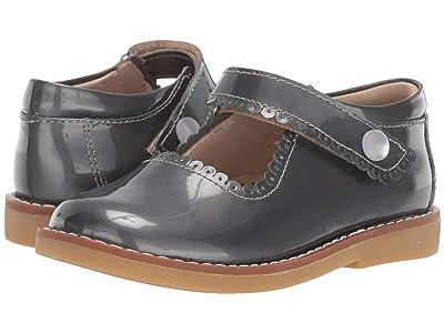 Elephantito Mary Jane (Toddler/Little Kid/Big Kid) (Patent Steel) Girls Shoes