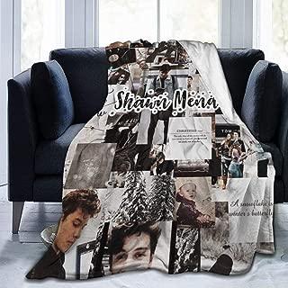 Monroe Lyndon Throw Blanket Shawn Men-des All Season Ultra Premium Fluffy Microfiber Soft Thick Microplush Bed Blanket 60