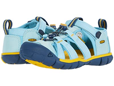 Keen Kids Seacamp II CNX (Toddler/Little Kid) (Petit Four/Keen Yellow) Kids Shoes