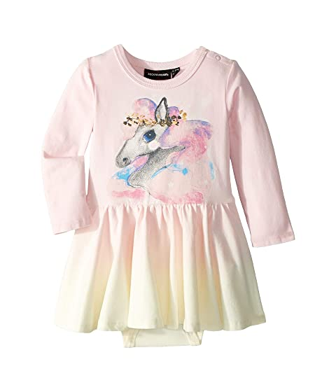 Rock Your Baby Rainbow Brumby Dress (Infant)