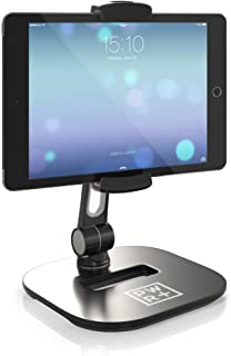 Soporte de Tableta y Poseedor Ajustable - Pwr Elegante Tableta Celular Poseedor 360º Ángulo Giratorio Rotación para 4-11