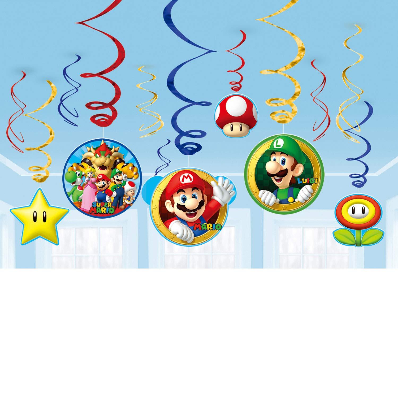 Super Mario Brothers Value Decorations