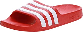 adidas Adilette Aqua K, Unisex Kids' Fashion Sandals, Red (Active Red/Ftwr White)
