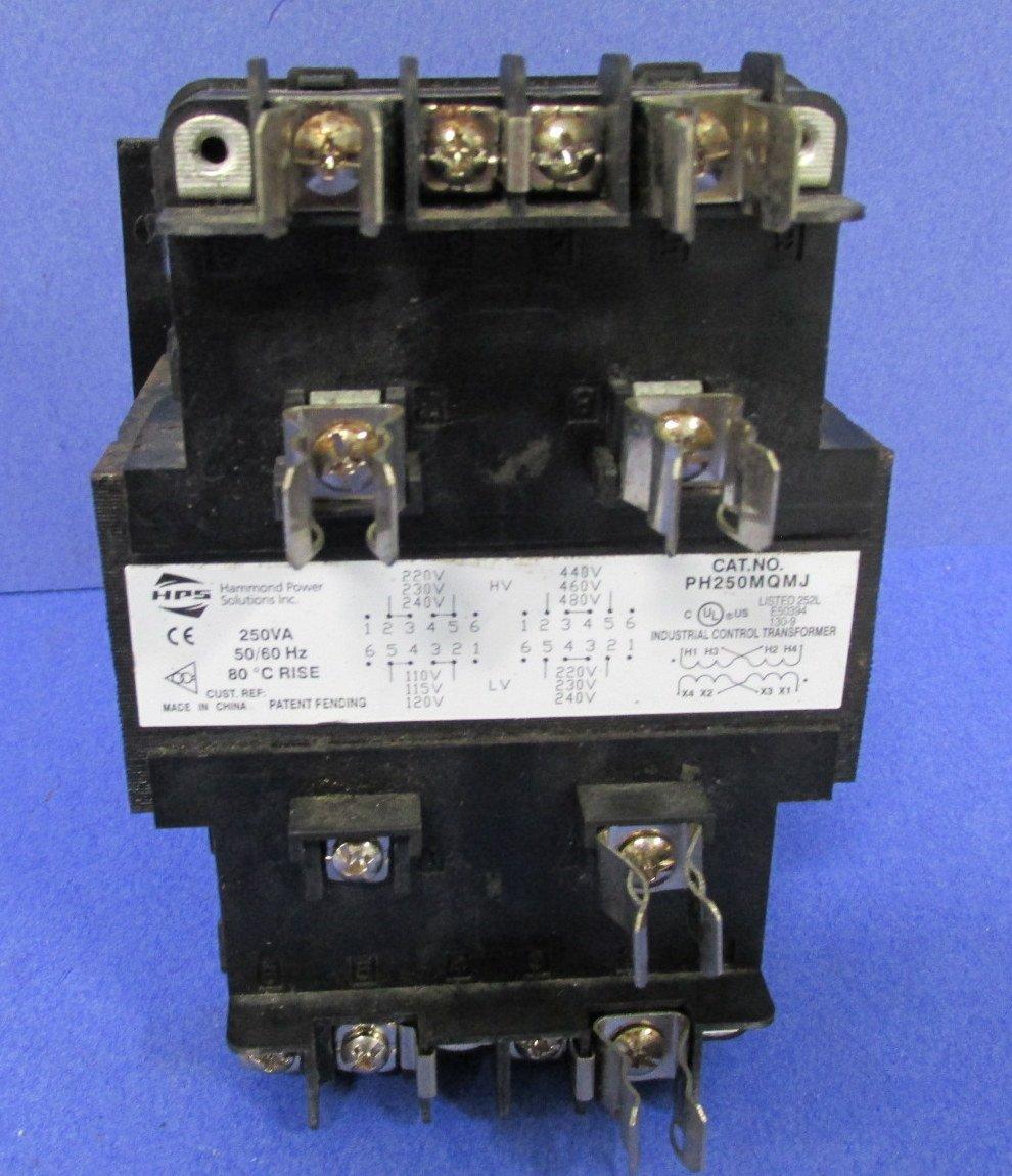 Hammond Power Solutions Control PH250MQMJ Financial sales sale Transformer Award -