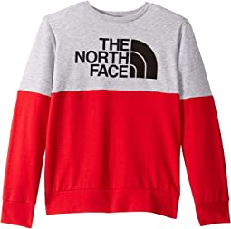 TNF Light Grey Heather/TNF Red
