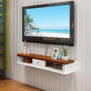 LJYY Unidad de TV Flotante Soportes de Montaje de TV Armario de TV de Pared Estante de Almacenamiento Caja Decorativa Deco...