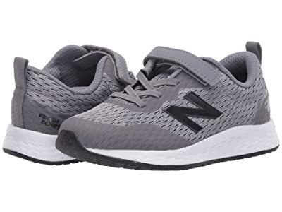 New Balance Kids Fresh Foam Arishi v3 Bungee (Infant/Toddler) (Gunmetal/Black) Boys Shoes