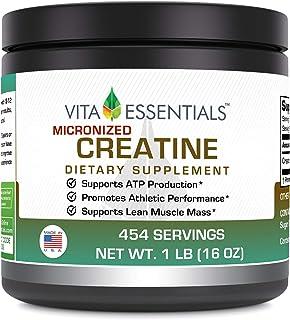 Vita Essentials Creatine Micronized Powder, 1 Pound