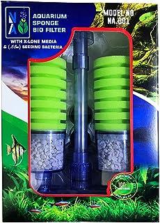 Aquatic Remedies Aquarium Sponge Bio Filter with X-Lone Media & X-Bac Bacteria