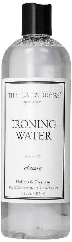 十億からに変化する雪THE LAUNDRESS(ザ?ランドレス)  アイロンウォーター classicの香り 475ml
