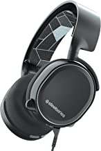 SteelSeries Arctis 3 Console Edition Gaming Headset for PlayStation, Xbox One, Nintendo Switch, VR, and Mobile - Black (Renewed)