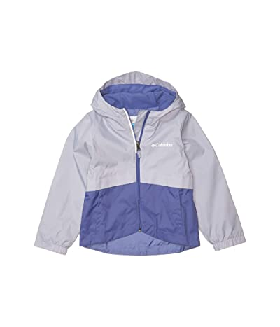 Columbia Kids Rain-Zillatm Jacket (Little Kids/Big Kids) (African Violet/Twilight) Girl