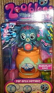 Spin Master Zoobles Toy Petagonia Animal Mini Figure #41 Cesealia