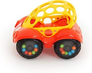 O Ball 1-Piece Rattle & Roll Car، Assorted Colors