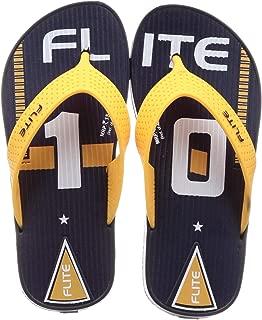 FLITE (Above 2 Years -Unisex Kid's Navy Yellow Slippers UK (34 EU) (FL0196B_NVYL0002)