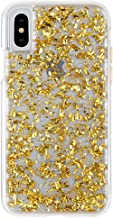 Case-Mate iPhone X Case - KARAT - 24K Gold Elements - Slim Protective Design - Apple iPhone 10 - Gold