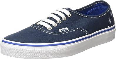 Vans Mens Authentic Core Classic Sneakers (41 M EU / 8.5 D(M) US, Midnight Navy/True White)