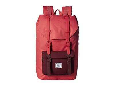 Herschel Supply Co. Little America Mid-Volume (Mineral Red/Plum) Backpack Bags