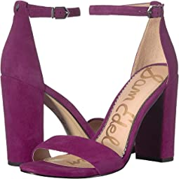 Purple Plum Kid Suede Leather