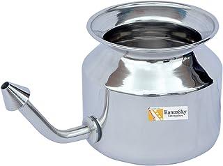 ステンレススチールネティポット| Stainless Steel Neti Pot [並行輸入品]