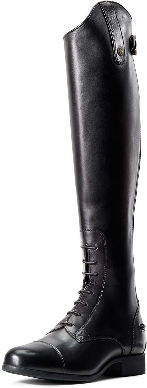ARIAT Women's Heritage Contour Ii Field Zip Tall Riding Boot Black Size 11 B Medium Us
