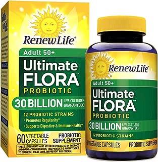 Renew Life Ultimate Flora Senior Formula Capsules, 60 Count