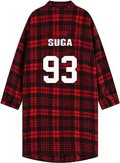 BTS Monster JIN Suga Jimin V Same Shirt Long Sleeve Blouse