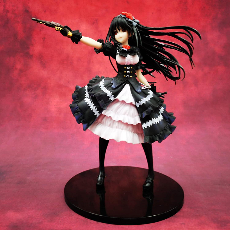 Jandawe 1 year warranty Anime Luxury goods Figures Date A Tokisaki Kurumi Beautiful Live: Gir