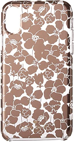 Floret Clear Phone Case for iPhone® X2