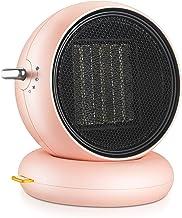 YXHUI Calefactor Eléctrico, 1000W Ventilador Calefactor Eléctrico PTC Cerámica, Oscilación Automática Calefactor Aire Frio Y Caliente para Hogar Oficina