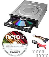Lite-On 24X SATA Internal DVD+/-RW Drive Optical Drive IHAS124-14 + Nero 12 Essentials..