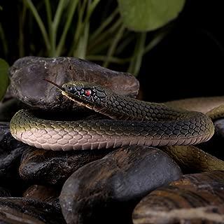 EYEFANCEE Rubber Snakes Halloween Gag - 50 Inch Realistic Scary Funny Prank Joke Toy Garden Props
