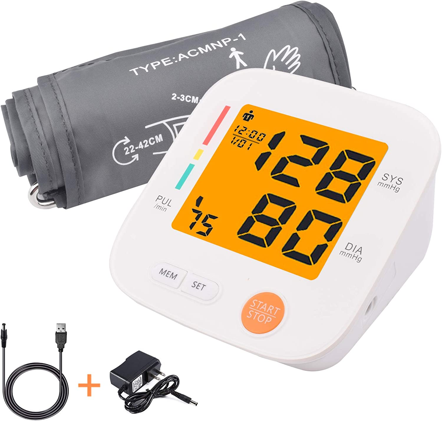 Blood Pressure Monitor Upper Max 89% OFF Arm Monito Automatic Factory outlet
