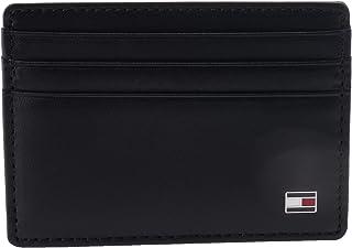 Tommy Hilfiger Mens Eton Credit Card Holder, Black - AM0AM00653