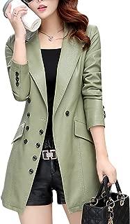 leather blazer fashion