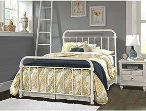 Hillsdale Furniture Kirkland Bed Set - Queen - Bed Frame Included - White