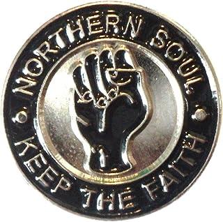 Enamel Badge Noordelijke Ziel Reggae Ska Fist