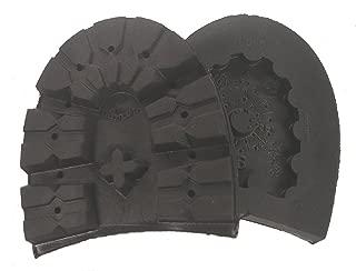 Montagna Rubber Lug Heel - Black