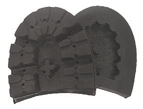 Vibram Montagna Rubber Lug Heel - Black