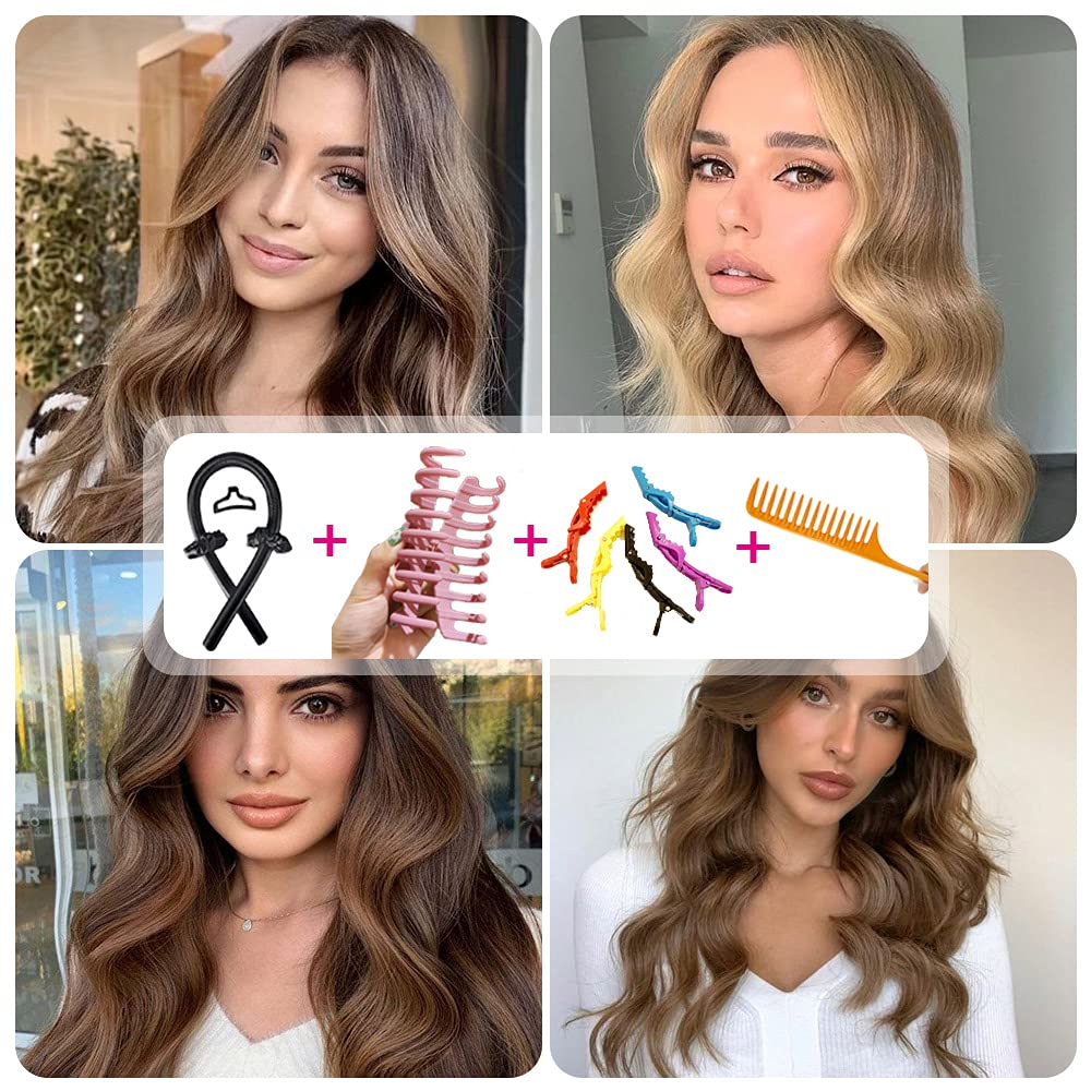 Heatless Hair Curlers Curling Rod You Can Max 90% OFF Los Angeles Mall Headband To