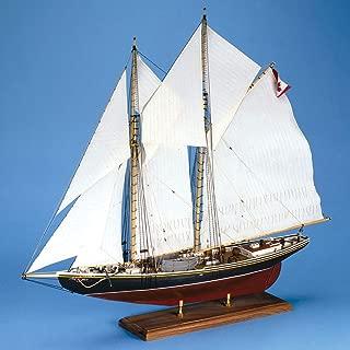 Bluenose Canadian Schooner Wooden Ship Model Kit 1:64 Scale