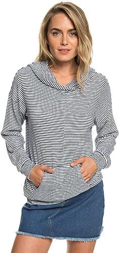 Roxy Sandy Coast - Sweat à Capuche Doux pour Femme ERJKT03533
