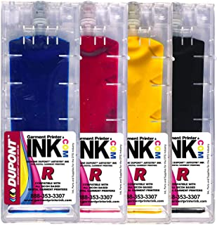 DuPont CMYK ink cartridge set for the Anajet mPower MP5 and MP10