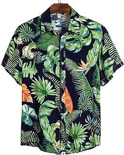 Camisas Hawaianas para Hombre Camisas Divertidas con Estampado de Aguacate y Manga Corta Camisas Casuales Streetwear Beach...